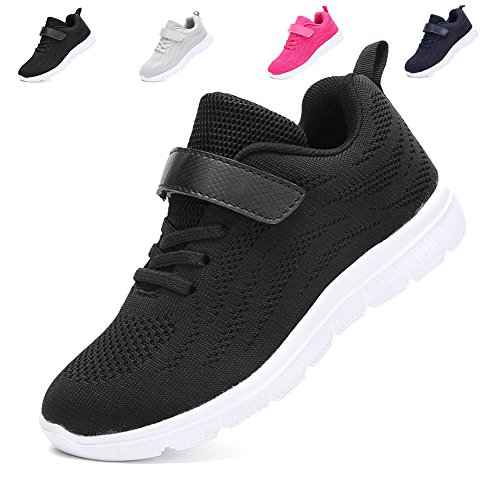 2b2dc1b9247e0 adituo Kids Lightweight Sneakers Boys and Girls Cute Breathable ...