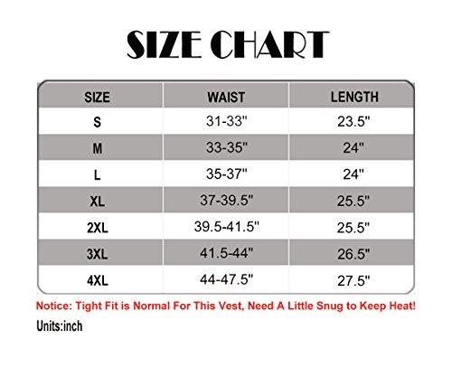 0ec92e7a73 NonEcho Men Sauna Sweat Vest Weight Loss Waist Trainer Vest Neoprene ...