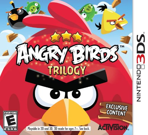 Nintendo 3DS – Angry Birds Trilogy
