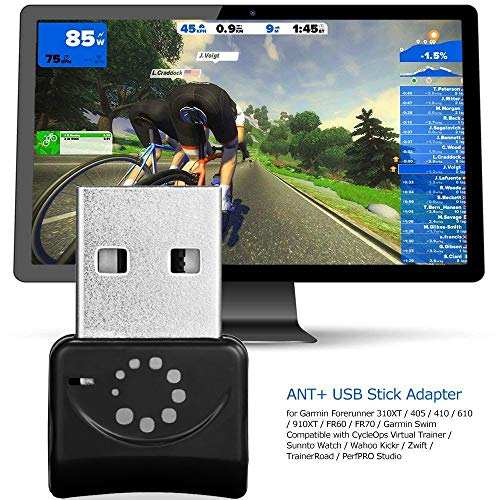 Onlyesh Zwift ANT+ USB Transmitter Receiver Stick Adapter