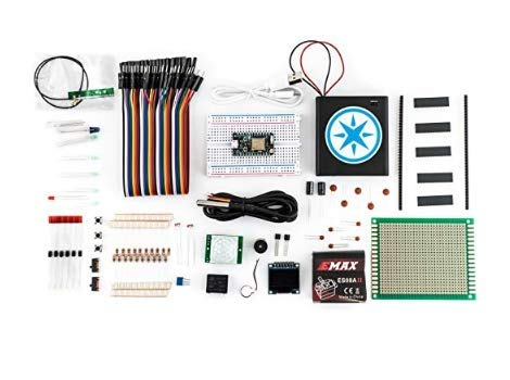 PARTICLE| Particle Maker Kit | Photon Wi-Fi with Headers | Reprogrammable IoT Development Kit for Prototyping | Scale Internet of Things Products | Cloud Access | Great for Electronics Projects