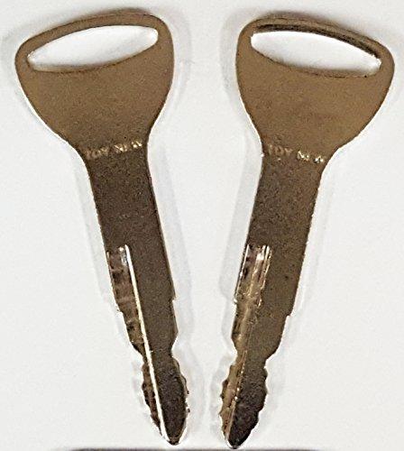2 1 pair Keyman Toyota Forklift Keys-New Style