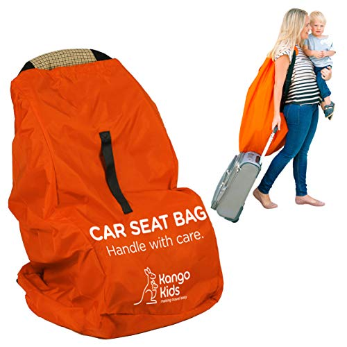 Car Seat Travel Bag -Make Travel Easier & Save Money. NEW IMPROVED Carseat Carrier for Airport – Protect your Child's CarSeats & Stroller from Germs & Damage. Easy Carry Padded Backpack