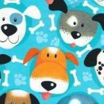 Preschool Nap Mat Sheet Dogs