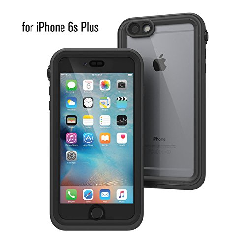 Catalyst iPhone 6s Plus Waterproof Case, Shock Proof, Drop Proof for Apple iPhone 6s+ with High Touch Sensitivity ID Black & Space Gray