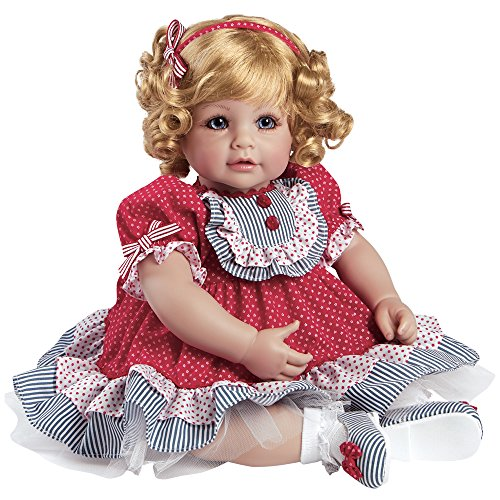 Adora Toddler Dream Boat 20″ Girl Weighted Doll Gift Set for Children 6+ Huggable Vinyl Cuddly Snuggle Soft Body Toy