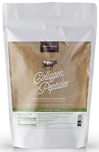 Earthtone Collagen Peptides 32oz | Premium Grass-Fed, Non-GMO Beef Protein