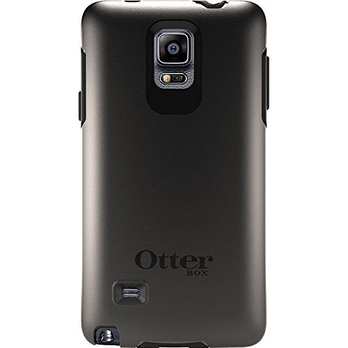 Black – OtterBox Samsung Galaxy Note 4 Case Symmetry Series – Retail Packaging