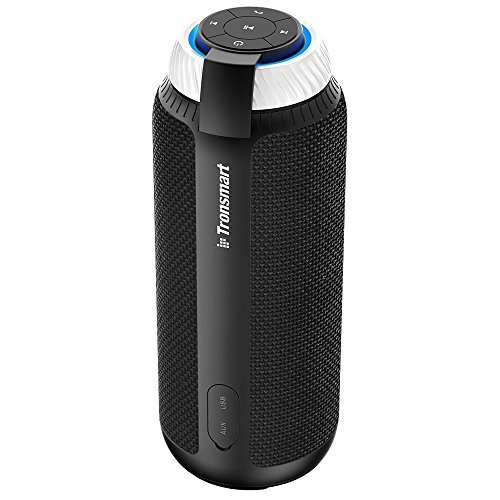 Portable Bluetooth Speaker with Superior Stereo Sound, Tronsmart T6 25W Dual-Driver 15-Hour Playtime Wireless Speaker with Deep Bass, Hands-Free Calling