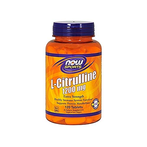 Now L-Citrulline 1200 mg Extra Strength,120 Tablets