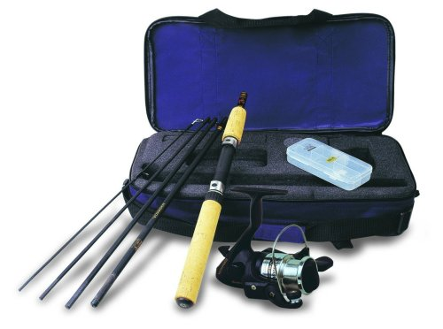 Okuma VS-605-20 Voyager Spinning Travel Kit