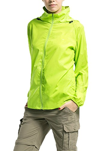 LANBAOSI Women's Lightweight Jacket UV Protect+Quick Dry Windproof Skin Coat