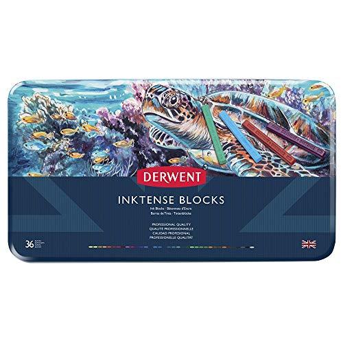 Derwent Inktense Ink Blocks, 36 Count 2301979