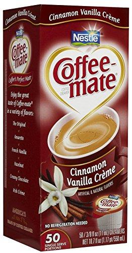 50 ct – Coffee-mate Liquid Creamer Singles – Cinnamon Vanilla Creme