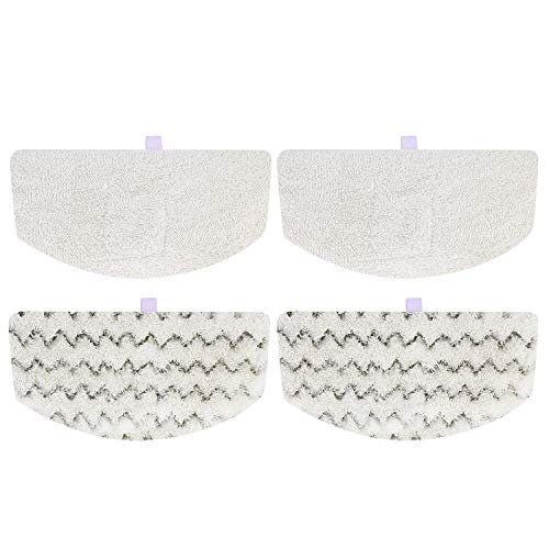 Cabiclean Replacement Pads Compatible Bissell-Steam-Mop-Pads Compatible with Bissell PowerFresh Steam Mop 1940 1806 1440 1554 Series, 5938