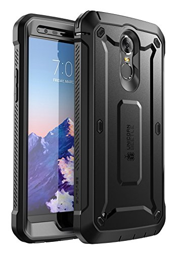 Retail Package BLK – SUPCASE Unicorn Beetle PRO Series Full-Body Rugged Holster Case for LG Stylo 3, LG Stylo 3 Plus/LG LS777, with Built-in Screen Protector for LG Stylo 3 / LG Stylo 3 Plus