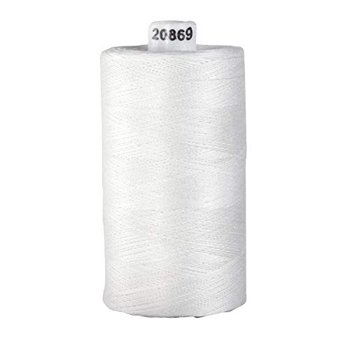 Connecting Threads 100% Cotton Thread – 1200 Yard Spool White