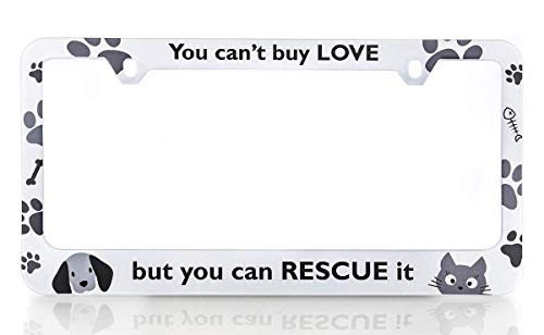 Top 10 Rescue License Plate Frame – License Plate Frames