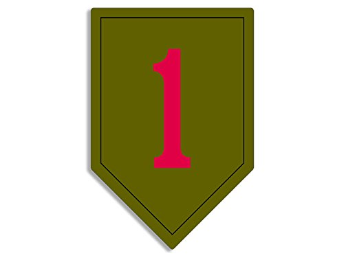 Top 8 1st Infantry Division Sticker – Bumper Stickers, Decals & Magnets
