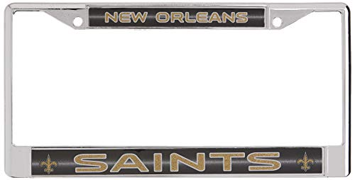 Top 10 Saints License Plate Frame – Sports Fan License Plate Frames