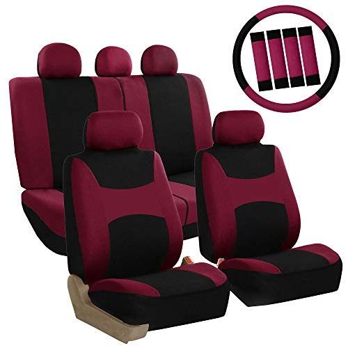 Top 10 Burgundy Car Seat Covers Full Set – Automotive Seat Covers