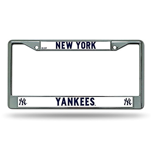 Top 10 NY Yankees License Plate Frame – Sports Fan License Plate Frames