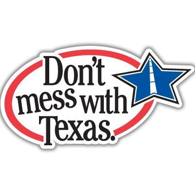 Top 8 Don't Mess with Texas Sticker – Bumper Stickers, Decals & Magnets
