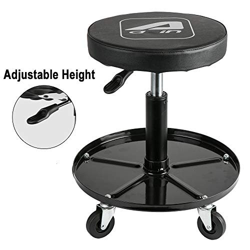 Top 10 Rolling Stools with Wheels – Garage Shop Roller Seats