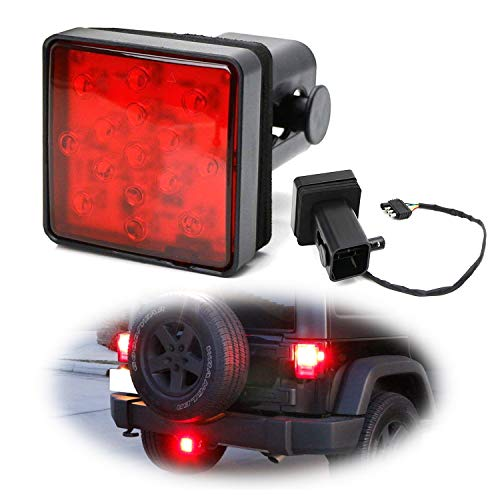 Top 10 IJDMTOY Red Lens LED Tail/Brake Light – Towing Hitch Lights