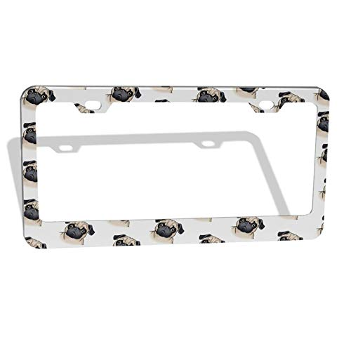 Top 10 Pug License Plate – License Plate Frames