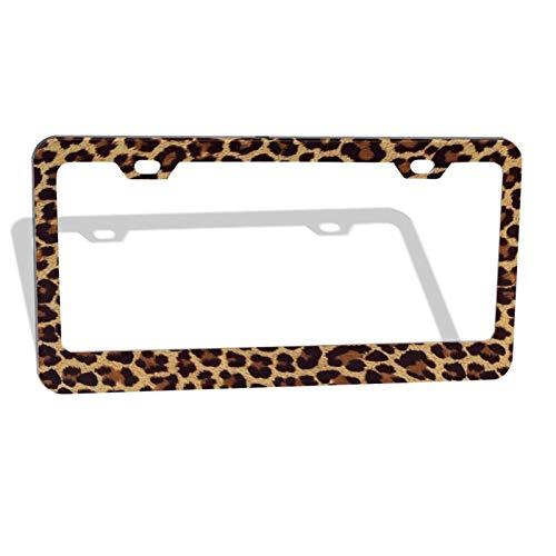 Top 10 Cheetah License Plate Frame – License Plate Frames