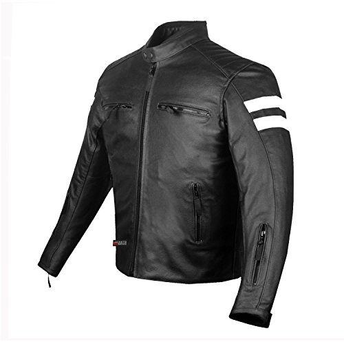 Top 9 Men's Leather Motorcycle Jacket – Powersports Protective Jackets
