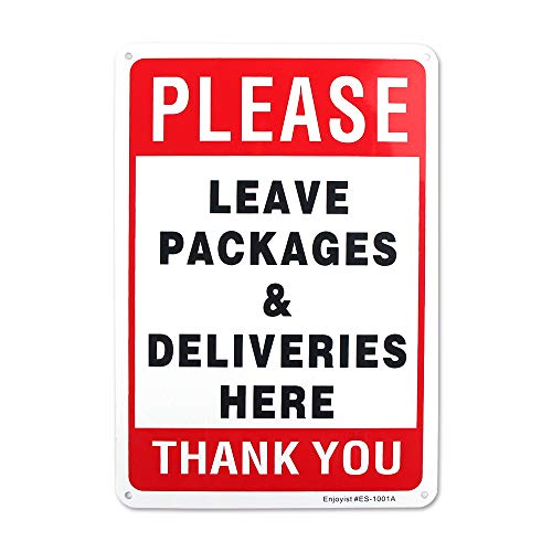 Top 10 Leave Package Sign – Automotive