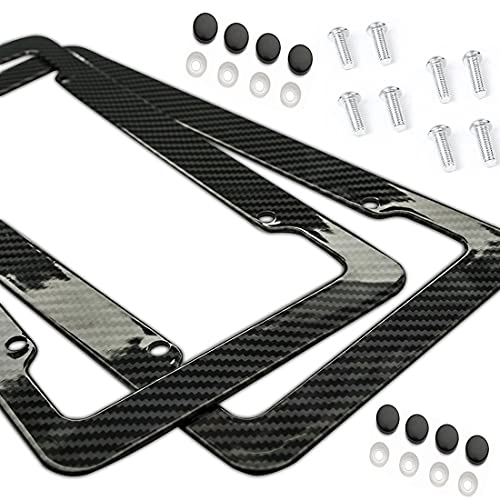 Top 10 Ferrari Carbon Fiber License Plate Frame – License Plate Frames