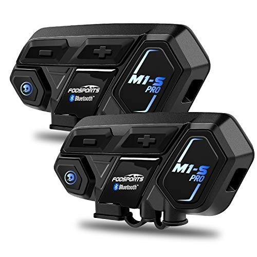 Top 10 FODSPORTS M1S Pro 2000m 8 Riders Group – Powersports Bluetooth Headsets