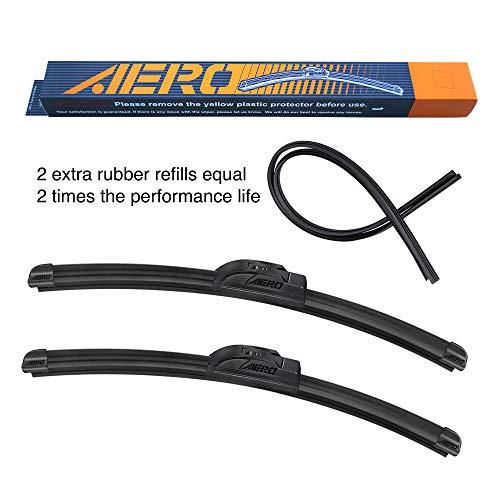 Top 9 Aero Wiper Blades 24 18 – Automotive Replacement Windshield Wiper Blades