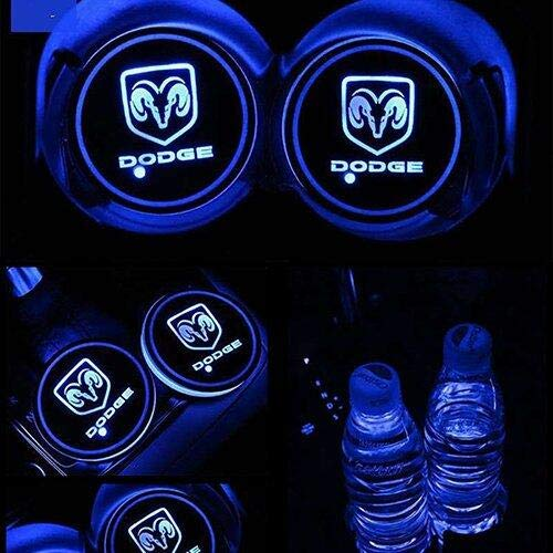 Top 10 2PCS LED Car Cup Holder Lights for Dodge – Automotive Cup Holders