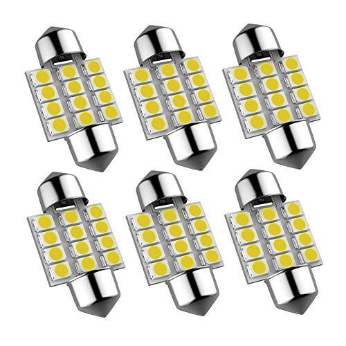 Top 10 DE3175 LED Light Bulb – Automotive Courtesy Step Light Bulbs