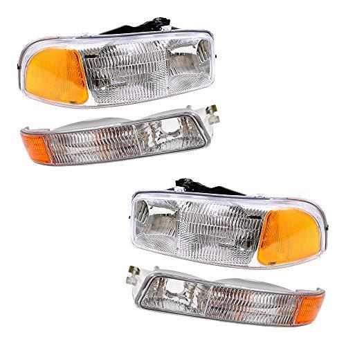 Top 10 2005 GMC Sierra Headlights – Automotive Headlight Assemblies