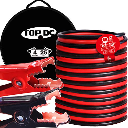 Top 9 Jumper Cables Heavy Duty 25 Ft – Automotive Battery Jumper Cables