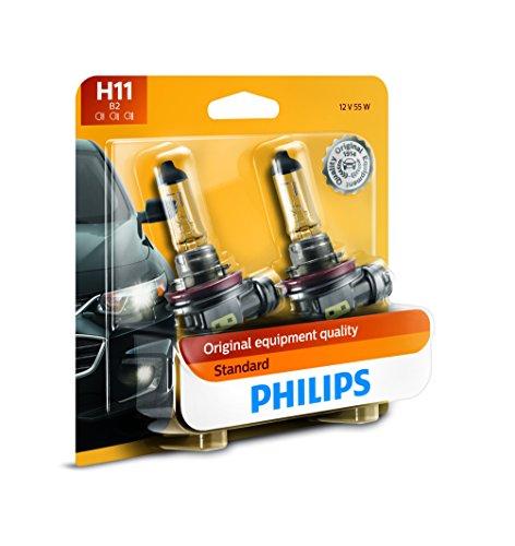 Top 10 Philips H11 Standard Halogen Replacement Headlight Bulb, 2 Pack – Automotive Headlight Bulbs