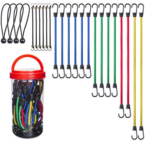 Top 10 Bungee Cords with Hooks Assortment – Bungee Cords