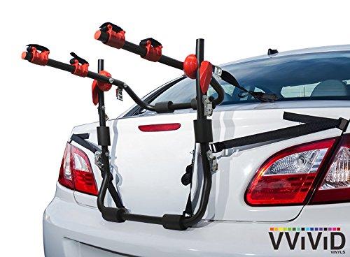Top 4 Deluxe Trunk Mounted Bike Rack – Bicycle Car Racks