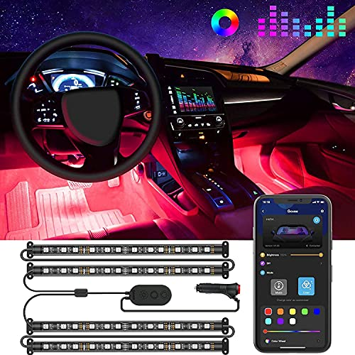 Top 10 LED Light Strips for Car Interior – Automotive Neon Accent Light Kits