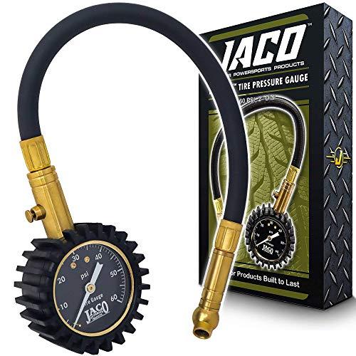Top 10 JACO ElitePro Tire Pressure Gauge – 60 PSI – Tire Repair Tools