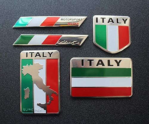 Top 9 Italian Flag Stickers – Bumper Stickers, Decals & Magnets