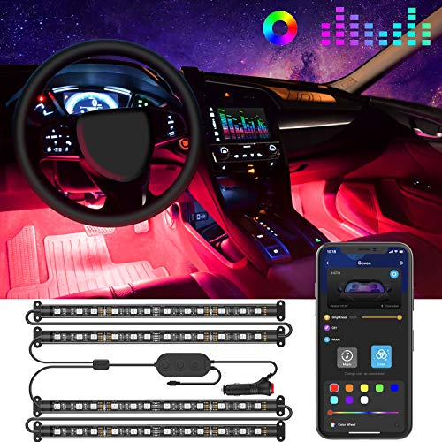 Top 10 LED Lights for Inside Car – Automotive Neon Accent Light Kits