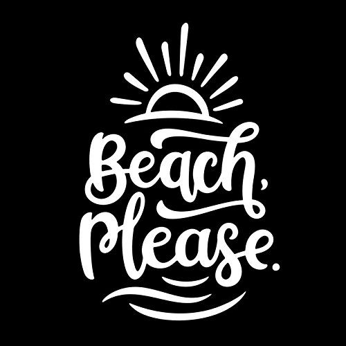 Top 9 Beach Decals for Cars – Bumper Stickers, Decals & Magnets
