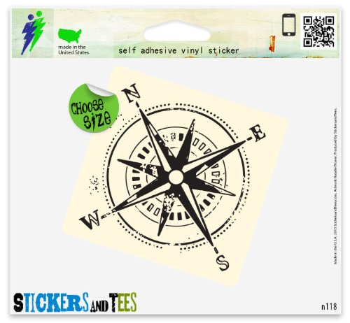 Top 10 Compass for Hiking – Bumper Stickers, Decals & Magnets
