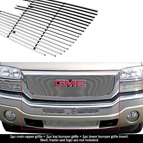 Top 10 Billet Grille 2006 GMC Sierra – Automotive Grilles